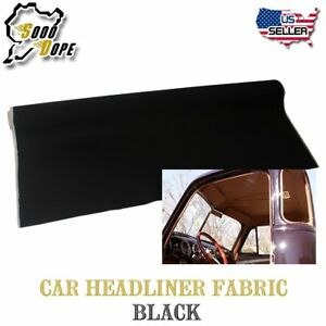 5ft X 5ft Auto Boat Pro Headliner Upholstery Fabric Sag Replacement Backed Foam
