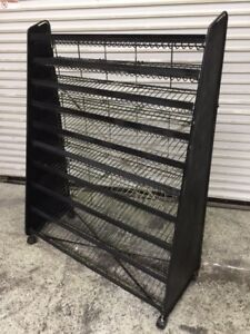 10 Tier Wire Display Rack Retail Store Snacks Chips Candy Packaged Foods 8396