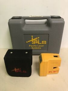 Pacific Laser Systems Pls 60521n Pls180 Red Cross Line Laser Level Feb 2015