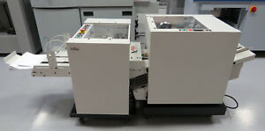 Mbm Isp Stitch N Fold B2000 Booklet Maker T2000 Trimmer Sf2 Duplo Morgana