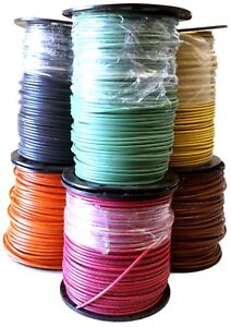 500 Ft 10 Awg Stranded Copper Thhn Thwn Wire Black Red Green Brown Orange Yel