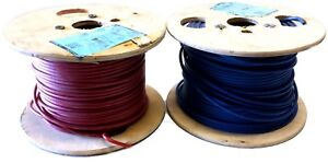 300 Ft 8 Awg Stranded Copper Thhn Thwn Mtw Wire Blue Red Usa Made