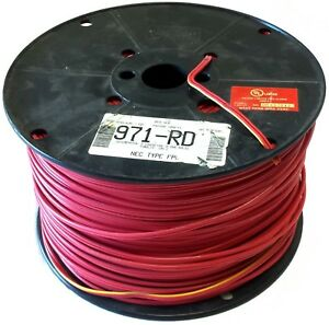 West Penn Wire 971 Rd Cable 1000 Ft 2 Conductor 16 Awg Solid Copper 16 2
