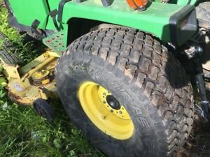 John Deere 955 Rear Tires And Rims parting Out Whole Tractor