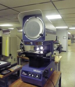 12 Mitutoyo Pj a3000 Bench Top Optical Comparator Profile Projector