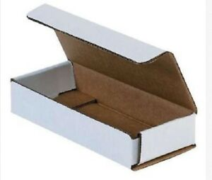 White Corrugated Cardboard Shipping Boxes Mailers 10 X 4 X 2