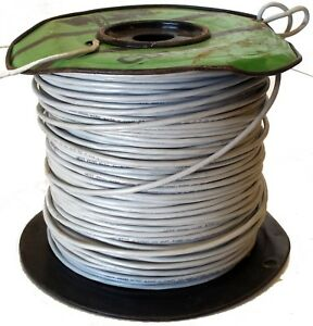 West Penn Wire 270 6 Conductor 22 Gauge Unshielded Cable 6c 22awg Cmr