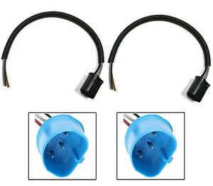 Wire Pigtail Male L 9007 Hb5 Two Harness Head Light Replacement Plug Socket Lamp