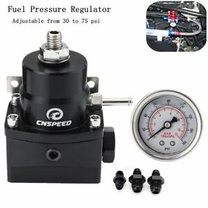 High Pressure 8an 8 8 6 Fuel Inject Pressure Regulator With Gauge And Boost