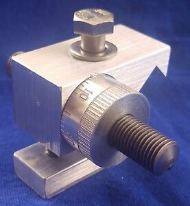Micrometer Carriage Stop For 10 Logan Lathe