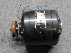 Bodine Electric Company Nsh 54 1725rpm 1 8 Hp Electric Gear Motor