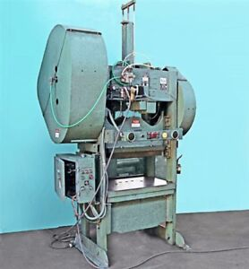 Rousselle 80 Ton Straight Side Punch Press 8ss40