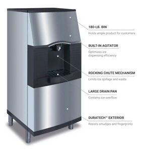 Manitowoc Spa 310 Ice Dispenser Commercial Ice Maker