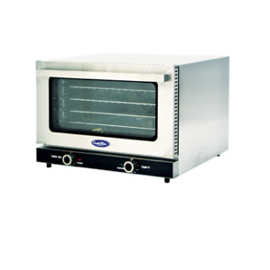 New 1 2 Sheet Mini Convection Baking Oven Electric Atosa Crcc 50 8426 Etl nsf