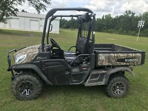 2015 Kubota Rtv 1120d Camo clean W low Hours
