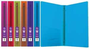 Bazic 1 Glitter Poly 3 ring Binder W Pocket For School Home Or Office case