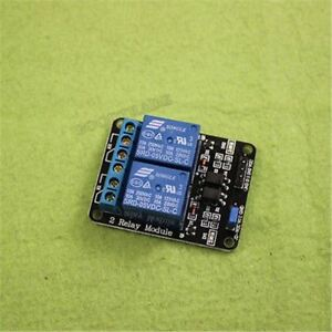 20pcs 5v Two 2 Channel Relay Module With Optocoupler For Pic Avr Dsp Arm Arduino