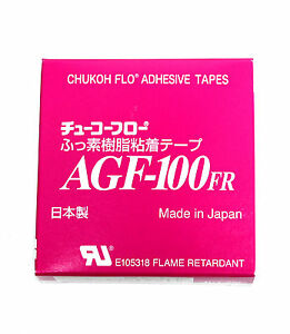 10x High Temperature Voltage Insulation Adhesive Tape Agf 100fr 200 6kv W 19mm