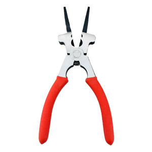 Multipurpose Flat Mouth Mig Welding Pliers Tools Spring Loaded Universal