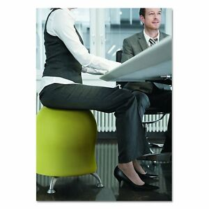 Modern Ball Chair Fabric Balance Exercise Ergonomic Adjustable Green Office Home