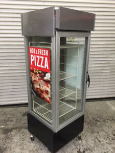 Heated Glass Pizza Display Case Hatco Pfst 1x 8342 Commercial Warming Cabinet
