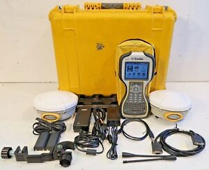 Trimble Dual R8 Model 2 Tsc3 W access Complete 430 450mhz Glonass Rtk Package