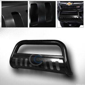 Fit 15 19 Chevy Colorado gmc Canyon Black Bull Bar Brush Bumper Grille Guard Frc