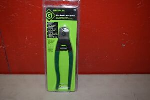 Greenlee 722 Wire Rope And Hard Wire Cable Cutter 7 7 8