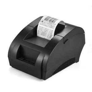Thermal Pos Printer Receipt Barcode Bill Printing Device Mini Portable Universal