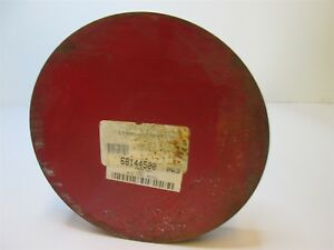 Decarb Free Round Tool Steel Blank Stock 6 Dia X 1 Thick Air Hardened New