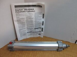 Air Cylinder 40mm Metric Pneumatic Cylinder Iso vdma Interchangeable Aluminum