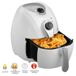 New 2 7l 1300w Electric No Oil Air Fryer Timer Temperature Control Kitchen