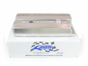 Canton 65 208 Valve Covers Small Block Chevy Lt1 Corvette 92 96 Aluminum Blem