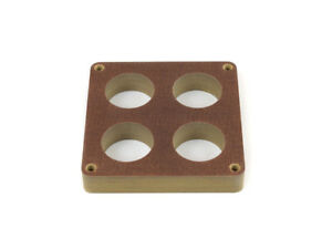 Canton 85 210 Phenolic Carburetor Spacer For 4500 Holley 4 Hole 1 Inch