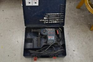 Bosch Boschhammer 11236vs Sds plus Corded Rotary Hammer Drill With Bits Free S h
