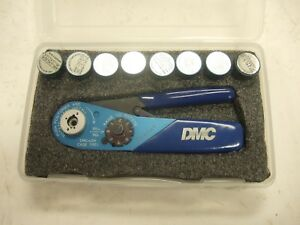 Daniels Dmc M22520 2 01 Afm8 Crimper 8 Positioner Crimp Tool Milspec Contacts