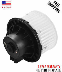 Heater Blower Motor With Fan 89019320 89019301 For Cadillac Escalade Chevy Gmc