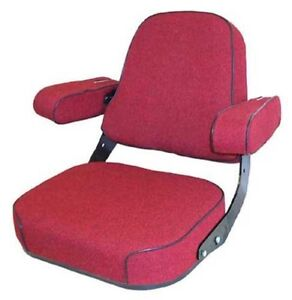 Seat Assembly Fabric Red International 1466 766 1066 856 806 756 826 706 966