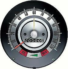 Oer 6481845 1968 Chevy Camaro 120mph Speedometer With Speed Warning