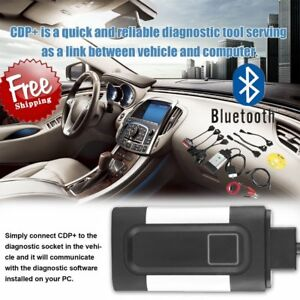 Bluetooth Car Tcs Cdp Profi Plus For Autocom Obd2 Diagnostic Tool 8x Cables Us