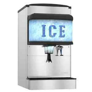 Hoshizaki Dm 4420n 22 W Countertop Ice And Water Dispenser
