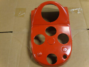 Vintage Ford Tractor Upper Dash Panel With Proofmeter Hole 801 800 601 900 641