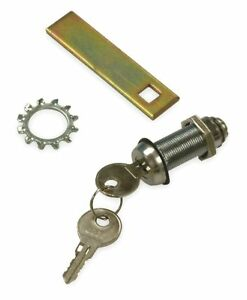 Wiegmann Key Lock Kit Steel For Use With Nema 4 And 12 Enclosures Waclsn12