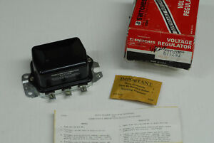 1958 1959 1960 1961 1962 Cadillac Nors Voltage Regulator W Air Conditioning