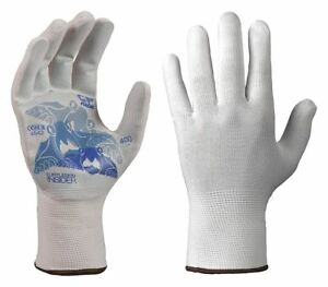 Turtleskin Glove Liners Nylon polyester S Wht Pr Cpb 400