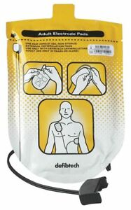 Defibtech 12 Adult Electrode Pads For Use With Mfr No Dcf a100 rx en