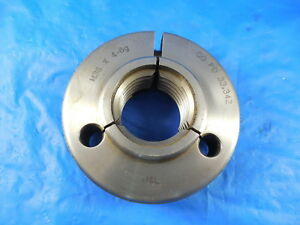 M36 X 4 6g Metric Thread Ring Gage 36 0 Go Only P d 33 342 Inspection Tooling