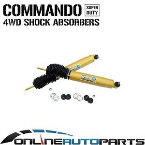 2 Front Foam Cell Shock Absorbers Jeep Cherokee Xj 1994 2001 4x4 40mm Big Bore