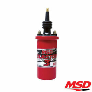 Msd Blaster 3 Male Tower High Output Coil 45000 Volts Msd8223