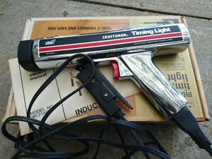 Sears Craftsman Inductive Timing Light Model 28 2134 Excellent Condition